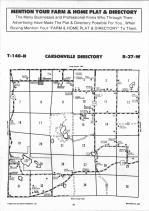 Carsonville T140N-R37W, Becker County 1992 Published by Farm and Home Publishers, LTD
